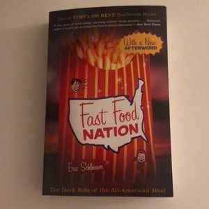 """Fast Food Nation"" By Eric Schlosser Book"